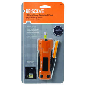Resolve  1 pc. Multi-Tool  Orange
