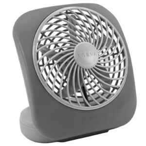 O2 Cool  5 in. 2 speed Battery  Personal Fan