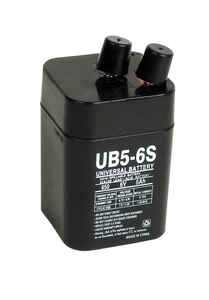 Universal Power Group  UB5-6S  Sealed 5 amps Lead Acid Automotive Battery
