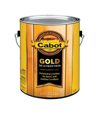 Cabot Gold Satin 3470 Sun-Drenched Oak Deck Varnish 1 gal.