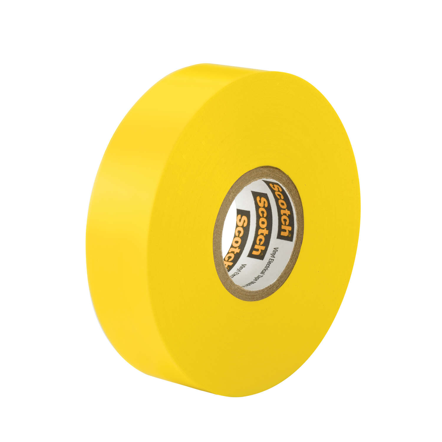 Scotch  3/4 in. W x 66 in. L Yellow  Vinyl  Electrical Tape