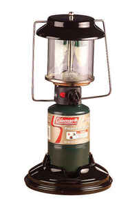 Coleman  Quickpack  1000 lumens Green  Lantern