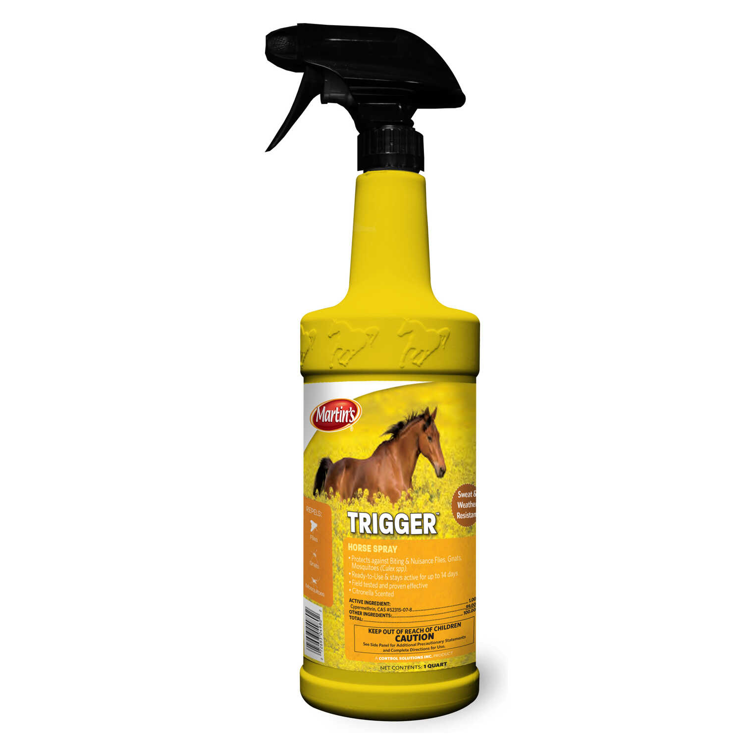 Martin's  Trigger Horse Spray  Insect Killer  1 qt.