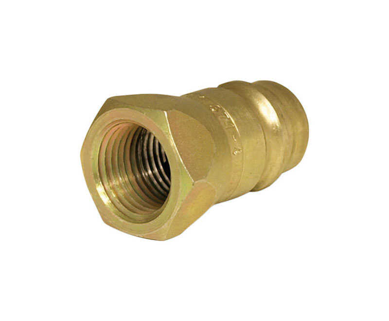 Universal  Steel  Hydraulic Coupler  1/2 in. Dia. x 3/4 in. Dia. 1
