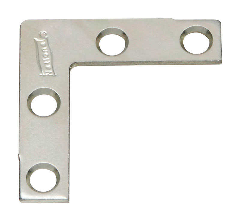 National Hardware  1-1/2 in. H x 3/8 in. W x 0.07 in. D Zinc-Plated  Steel  Outside  Corner Brace