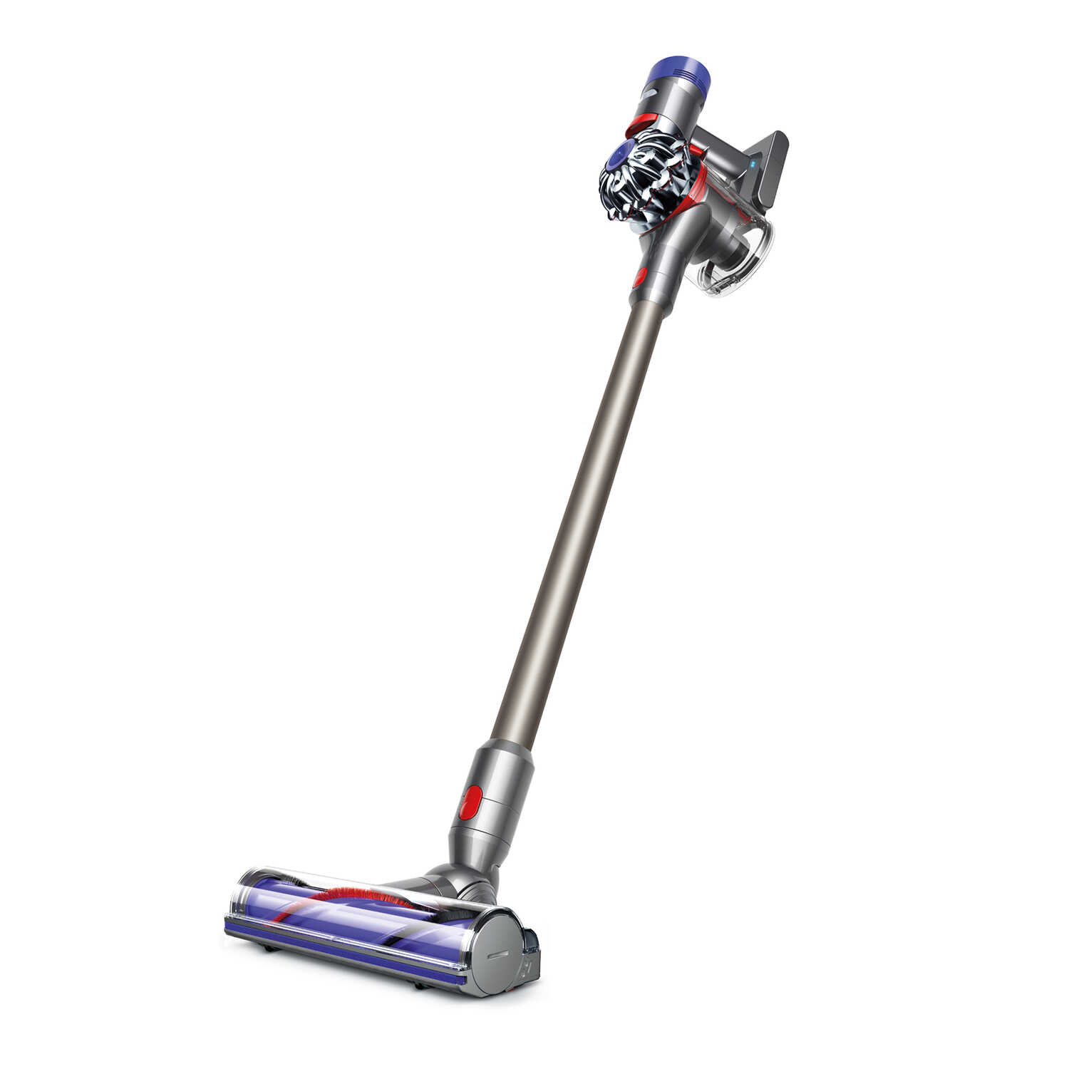 Dyson  Animal  Bagless  Rechargeable Stick/Hand Vacuum  21.6 amps HEPA  Fuscia/Steel