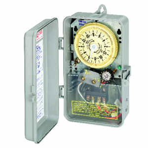 Intermatic  Outdoor  Pool Sprinkler Irrigation Timer  208/277 volt Gray