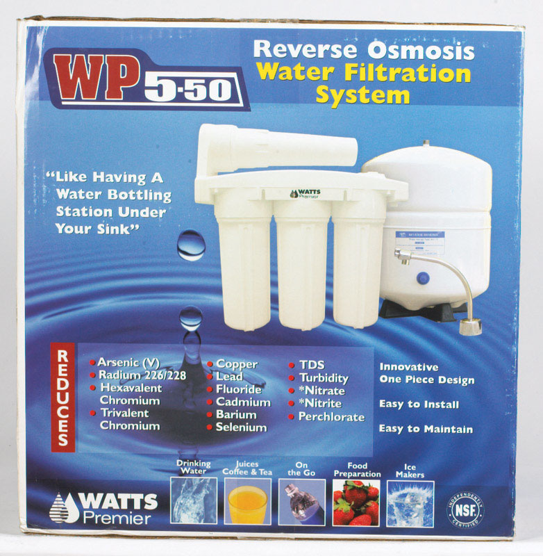 Watts  6400  Replacement Water Filter  For Under Sink Premier