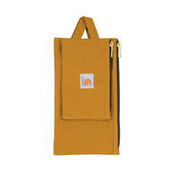 Carhartt  Legacy  7 in. W x 1/2 in. H Heavy Duty Poly Fabric  Tool Pouch Set  Light Brown