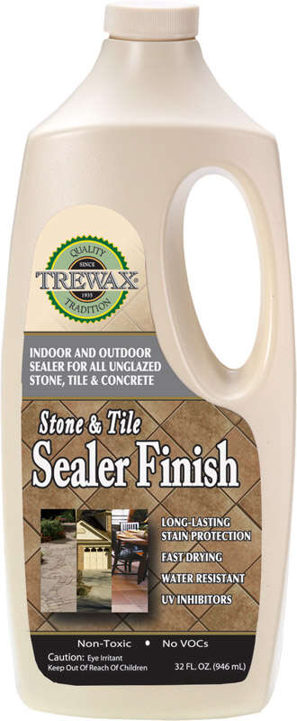 Trewax Commercial And Residential Stone And Tile Sealer