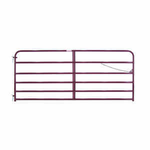 Tarter  50 in. H x 1.75 in. W 10 ft. Steel  Tube Gate