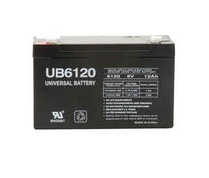 Universal Power Group  UB6120  Sealed 12 amps Lead Acid Automotive Battery