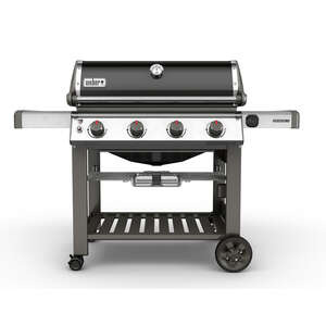 Weber  Genesis II E-410  4 burners Natural Gas  Black  Grill  48000 BTU