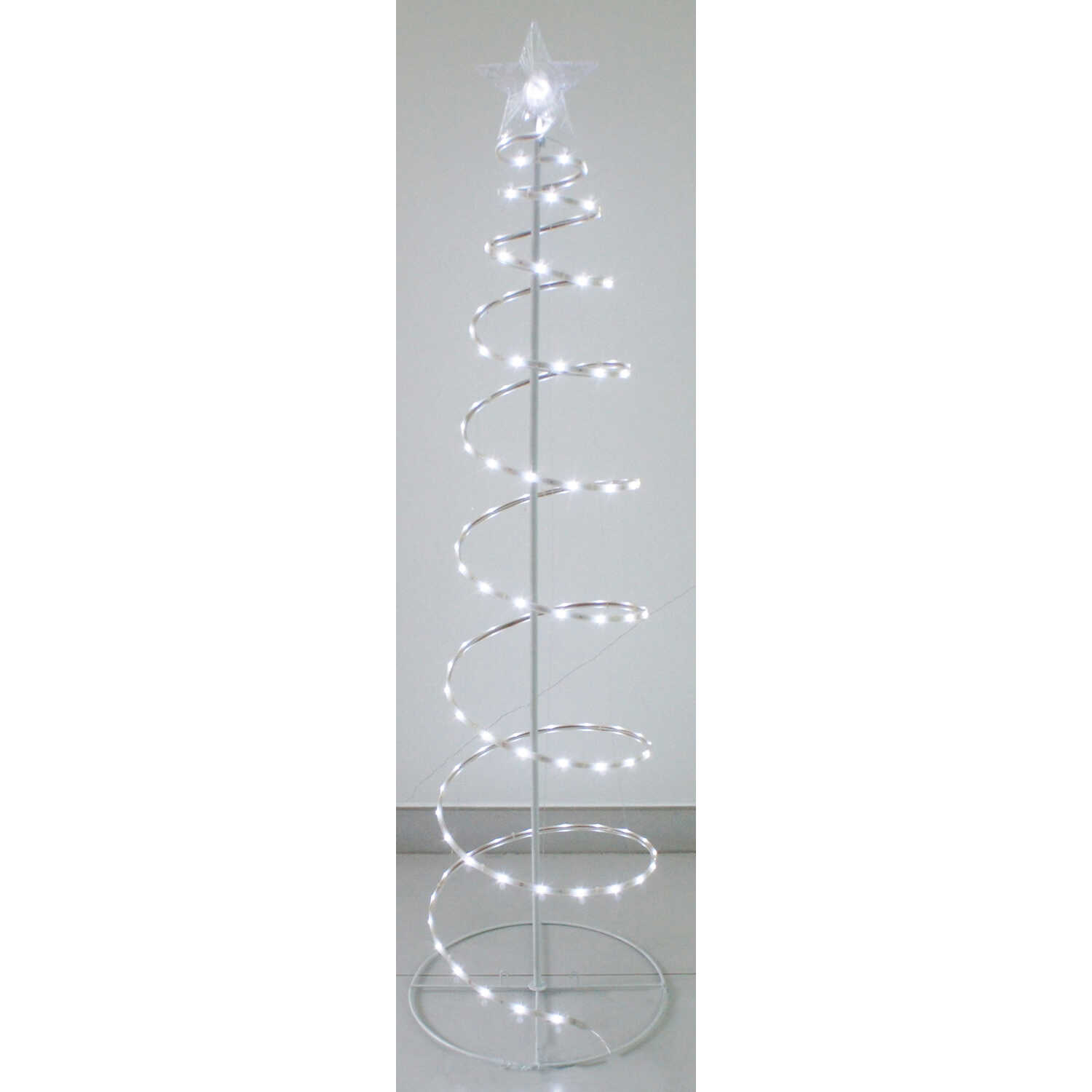 Sienna  Spiral Tape  String Tree  White  Metal