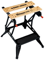 Black and Decker  Workmate 225  30.25 in. L x 6.75 in. W x 24.12 in. H Classic  Folding Workbench  4