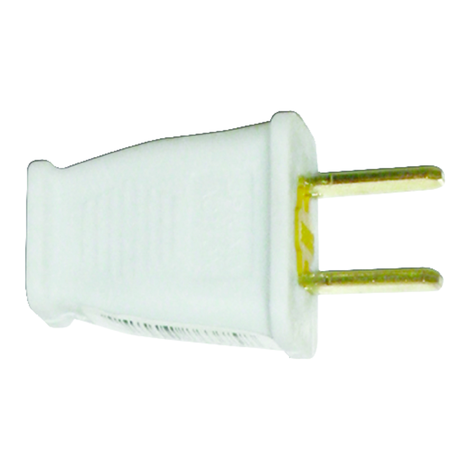 Pass & Seymour  Commercial and Residential  Thermoplastic  Non-Polarized  Plug  1-15P  16 AWG 2 Pole