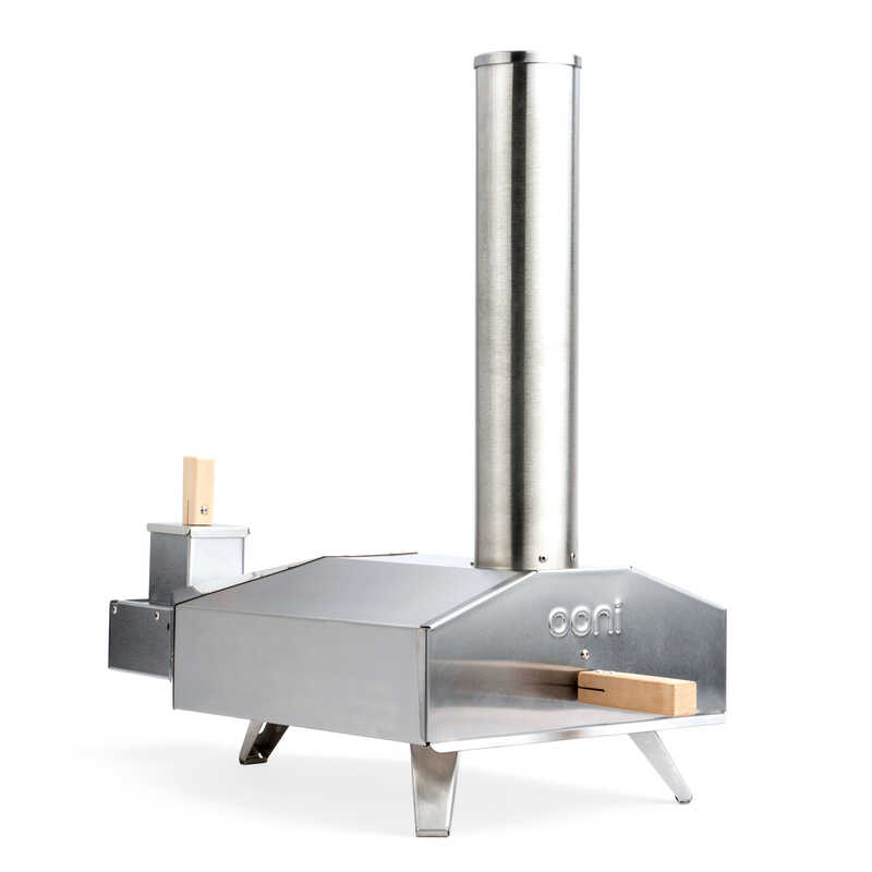Uuni  3  1 burners Multi-Fuel  Pizza Oven  Silver