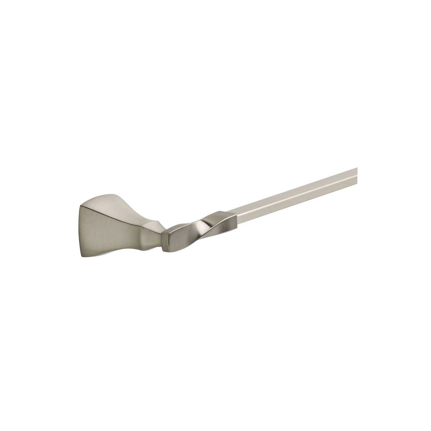 Delta  Sawyer  Satin Nickel  Towel Bar  24 in. L Die Cast Zinc