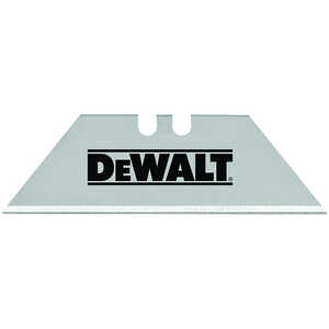 DeWalt  2-1/2 in. L x 0.02 in.  Heavy Duty  Replacement Blade  75 pk Steel