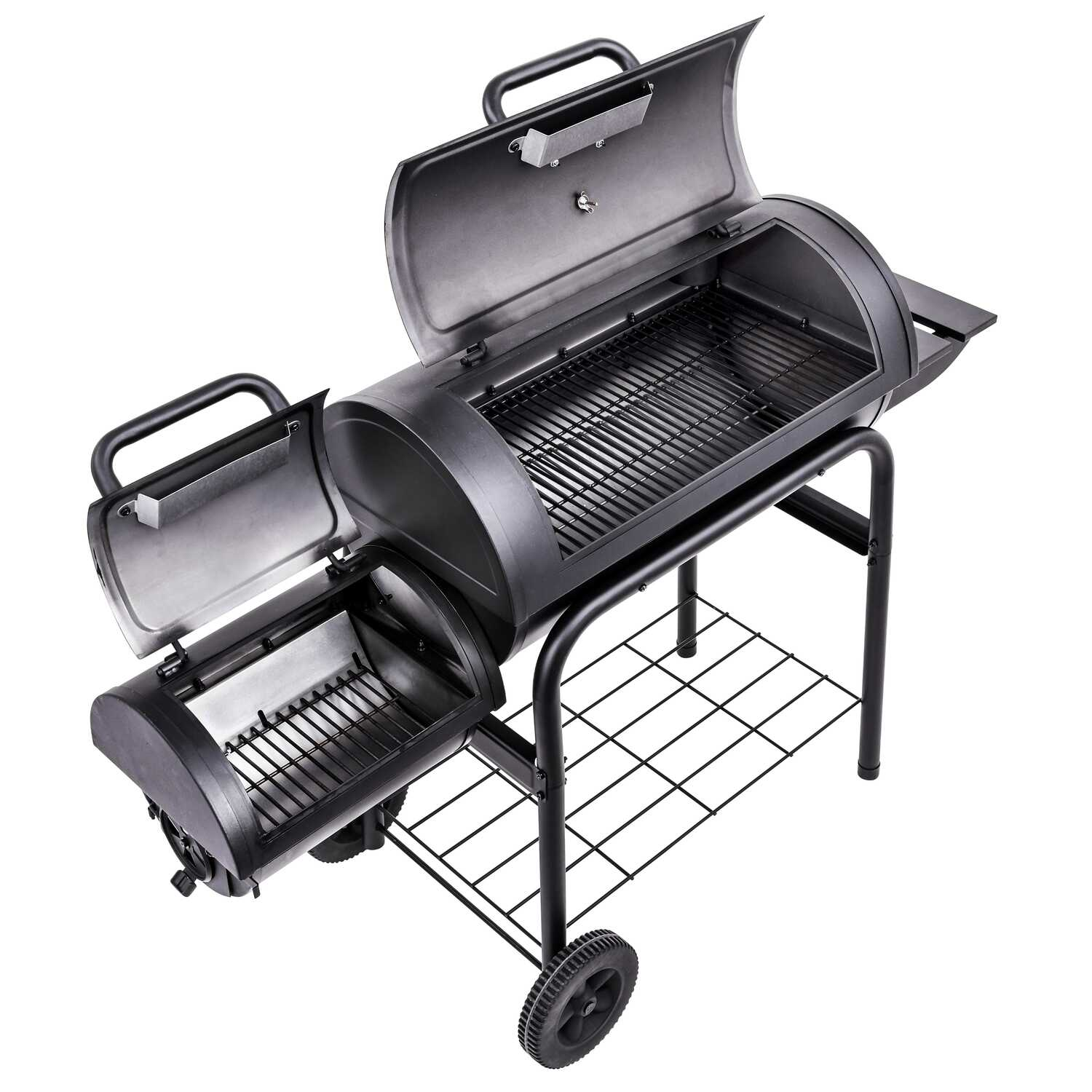Char-Broil  American Gourmet  Charcoal  Smoker  Black