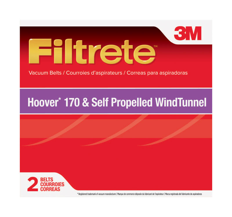 3M  Filtrete  Vacuum Belt  For Style 170 2 pk