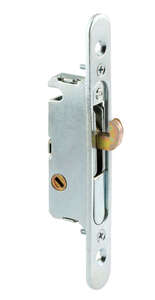Prime-Line Mortise Lock And Keeper 1 in. 1 in. x 3.9 in. x 7.9 in. Steel Use on Wood and Vinyl Patio