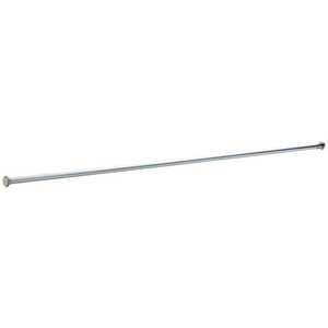 Liberty Hardware  Shower Rod  1 in. H x 72.5 in. L x 1.6 in. W Stainless Steel  Polished Chrome  Chr