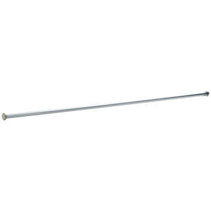 Liberty Hardware  Shower Rod  1.6 in. W x 72.5 in. L x 1 in. H Polished Chrome  Chrome  Stainless St