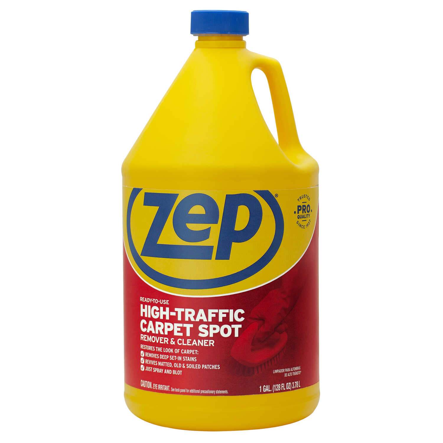 Zep  Commercial  Pleasant Scent Carpet Cleaner  128 oz. Liquid