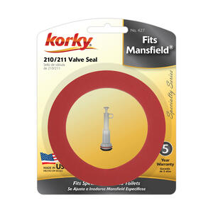 Korky  Fits Mansfield 210 and 211  Flush Valve Seal
