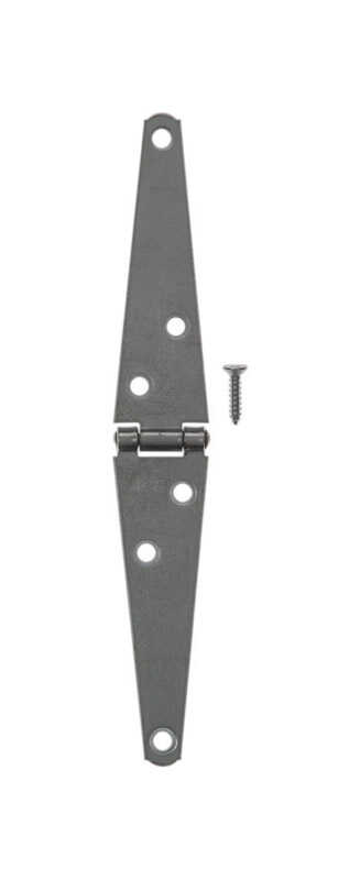 Ace  4 in. L Zinc-Plated  Steel  Light Duty Strap Hinge  1 pk