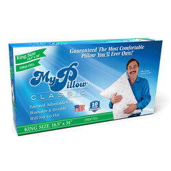 My Pillow  As Seen On TV  Firm Fill King  Pillow  Foam  1 pk