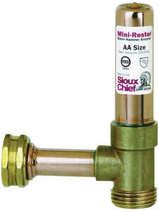 Sioux Chief  Schedule 40  3/4 in. MHT   x 3/4 in. Dia. Swivel FHT  MiniRester  Copper  Water Hammer