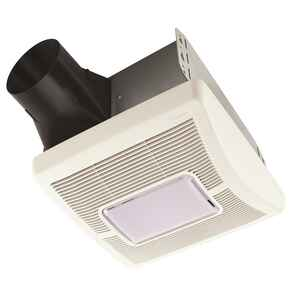 Broan  InVent Series  70 CFM 2 Sones Ventilation Fan with Lighting