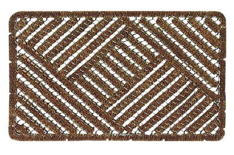Bacova Brown Coir Door Mat 30 In L X 18 In W Ace Hardware