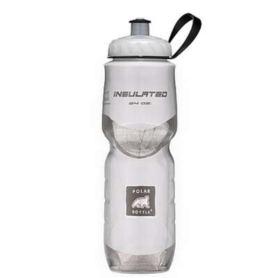 Polar Bottle  24 oz. Double Wall Insulation  Water Bottle  White