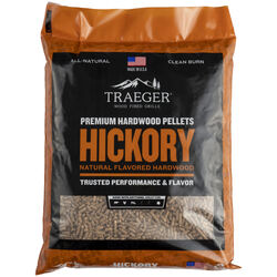 Traeger All Natural Hickory Hardwood Pellets 20 lb.