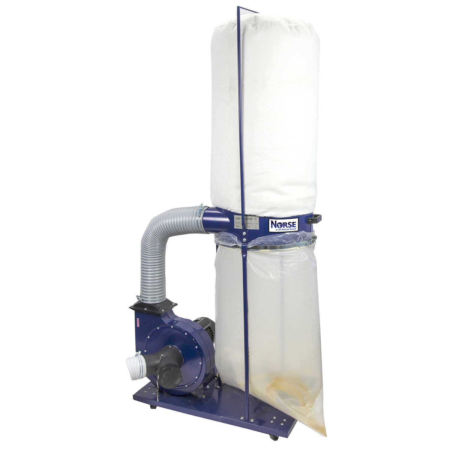 C.H. Hanson  Norse  Portable Dust Collector  120 volt 36 in. W x 76 in. H 1 pc. 2 hp 3400 rpm