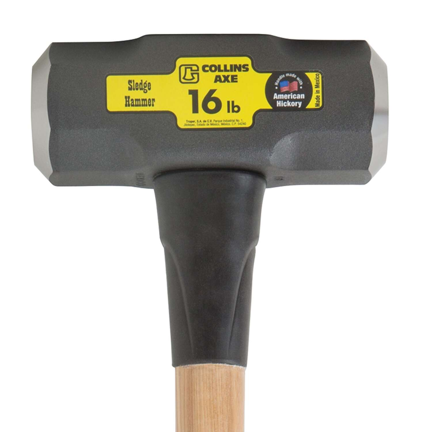 Collins  16 lb. Steel  Sledge Hammer  36 in. L 36 in. Hickory Handle