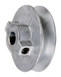 Chicago Die Cast Single V Grooved Pulley A 3-1/2 in. x 5/8 in. Bulk
