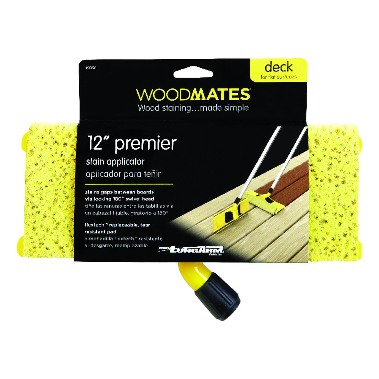 Woodmates  Refill 12 in. W For Smooth Surfaces Wood Stain Pad