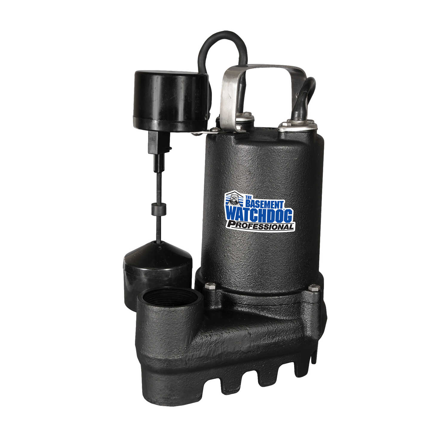 Basement Watchdog  Professional  1/2 hp 4300 gph Cast Iron  Submersible Sump Pump