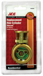 Ace  SC1  Brass  Brass  Rim Cylinder  Keyed Differently