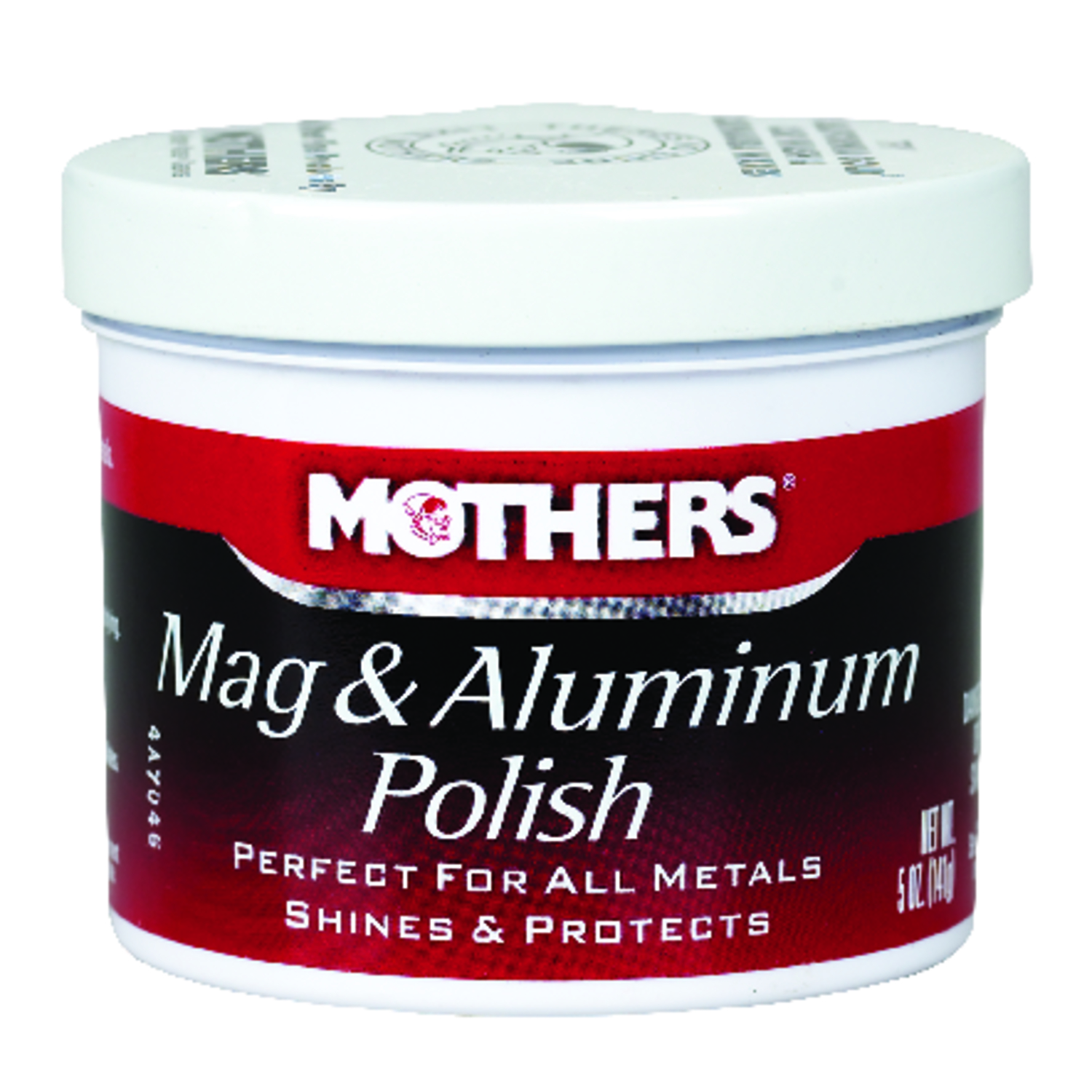 Mothers  Mag & Aluminum Polish  Paste  Automobile Polish  5 oz. For Metals