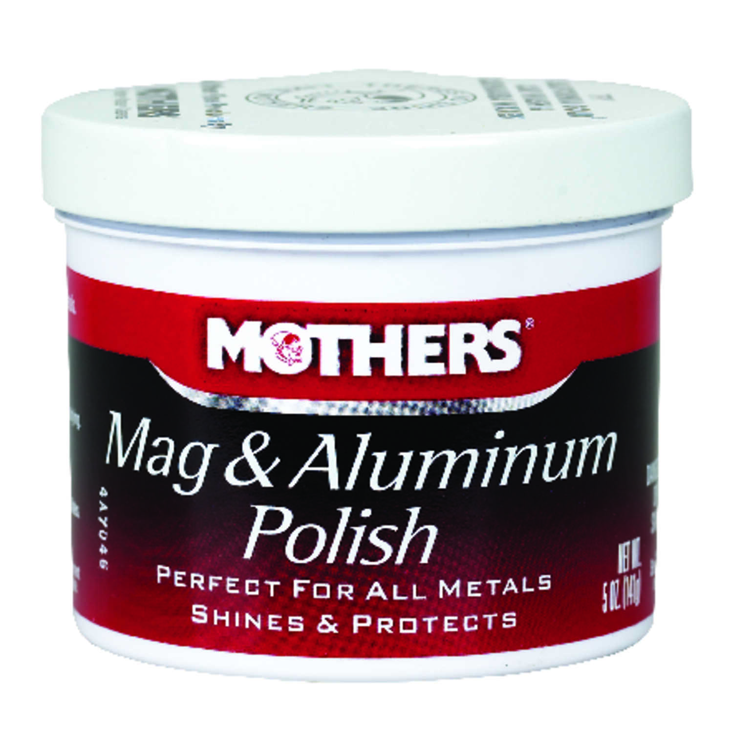 Mothers  Paste  Automobile Polish  5 oz. For Metals