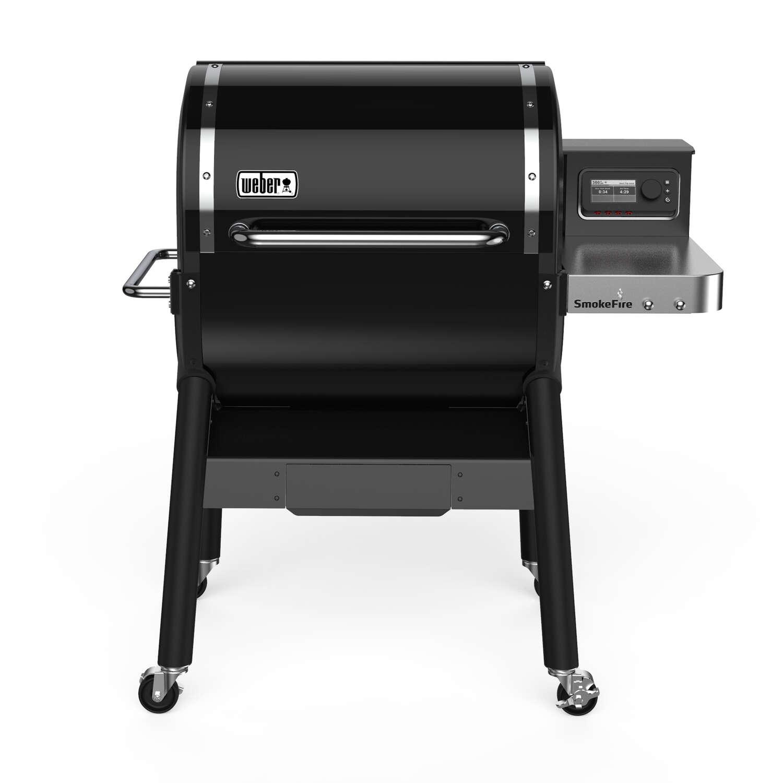 Weber SmokeFire EX4 Wood Pellet Freestanding Grill Black