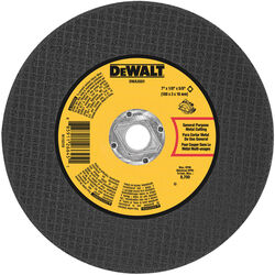 DeWalt  High Performance  7 in. Dia. x 5/8 in.  Aluminum Oxide  Metal Cutting Saw Blade  1 pc.