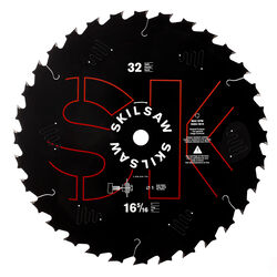 SKILSAW  16-5/16  Dia. x 1 in.  Carbide Tipped  Circular Saw Blade  32 teeth 1 pc.