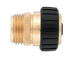 Ace  5/8 in. Brass  Threaded  Male  Hose Mender