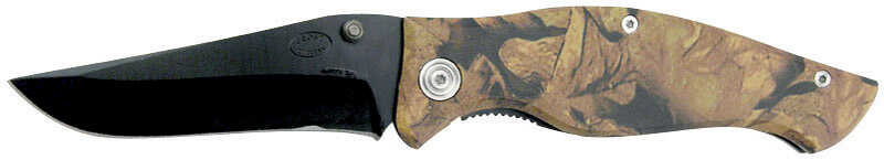 Frost Cutlery  Fall Foliage  Camouflage  Stainless Steel  8 in. Pocket Knife